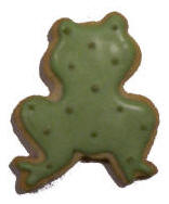 Cookies Shaped Like Frogs