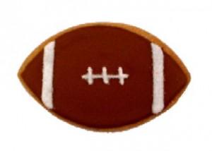 Cookies Shaped Like a Football