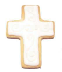 Cross Shaped Cookies