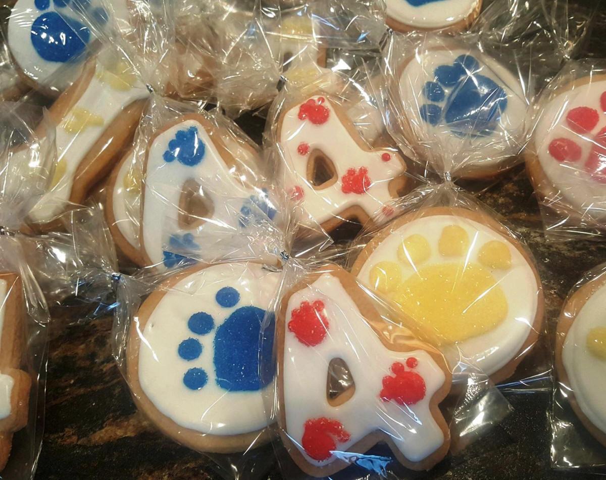 Kids Birthday Party Cookies