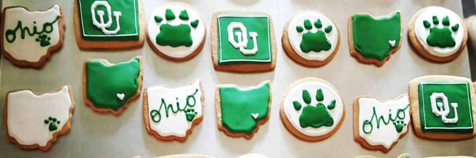 College Team Logo Branded Cookies