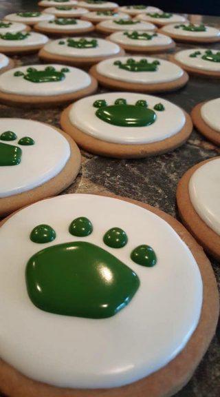 Sport Team Company Logo Cookies
