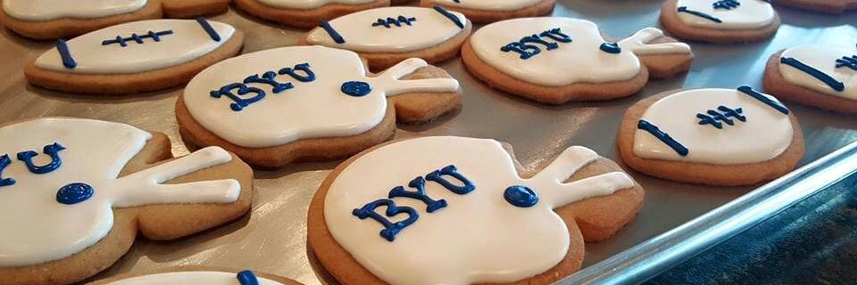 Team Sports Logo Cookies