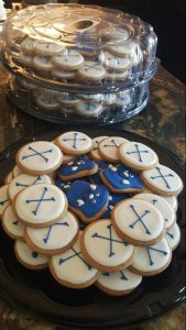 Themed Party Cookies